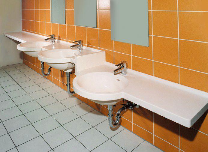 preschool bathroom sink. Mehrfachanlage - Höhenversetzt Preschool Bathroom Sink R