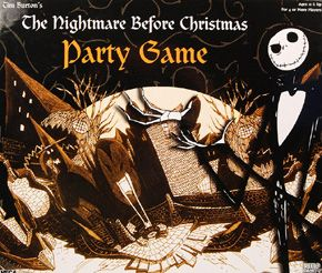 The Nightmare Before Christmas Party Game