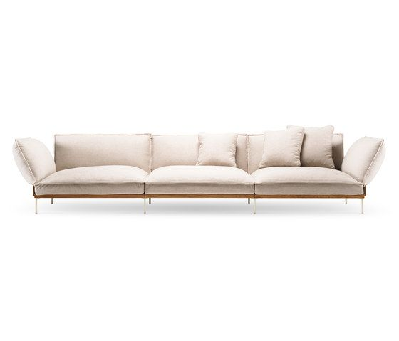 jord sofa 3 seater with armrests by fogia lounge sofas f rh pinterest com