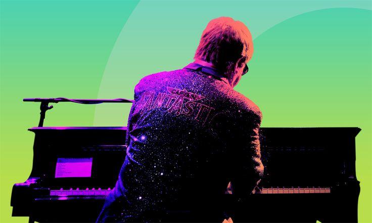 Алиша Киз, Элтон Джон и Робби Уильямс на фестивале Apple Music в Лондоне
