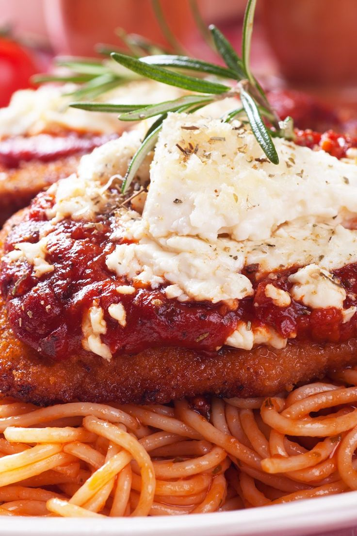 Tomato Chicken Parmesan Recipe | Nom Noms | Pinterest