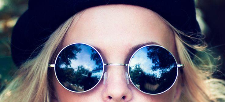 lentes de sol redondos, vuelven para quedarse
