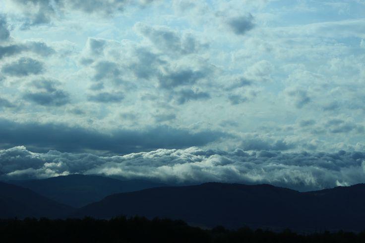 Unique clouds.