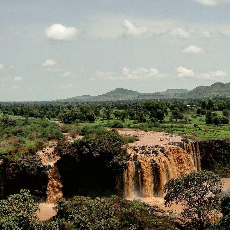 Las cataratas del Nilo Azul en Etiopía son una visita obligada para disfrutar del espectáculo de la naturaleza!