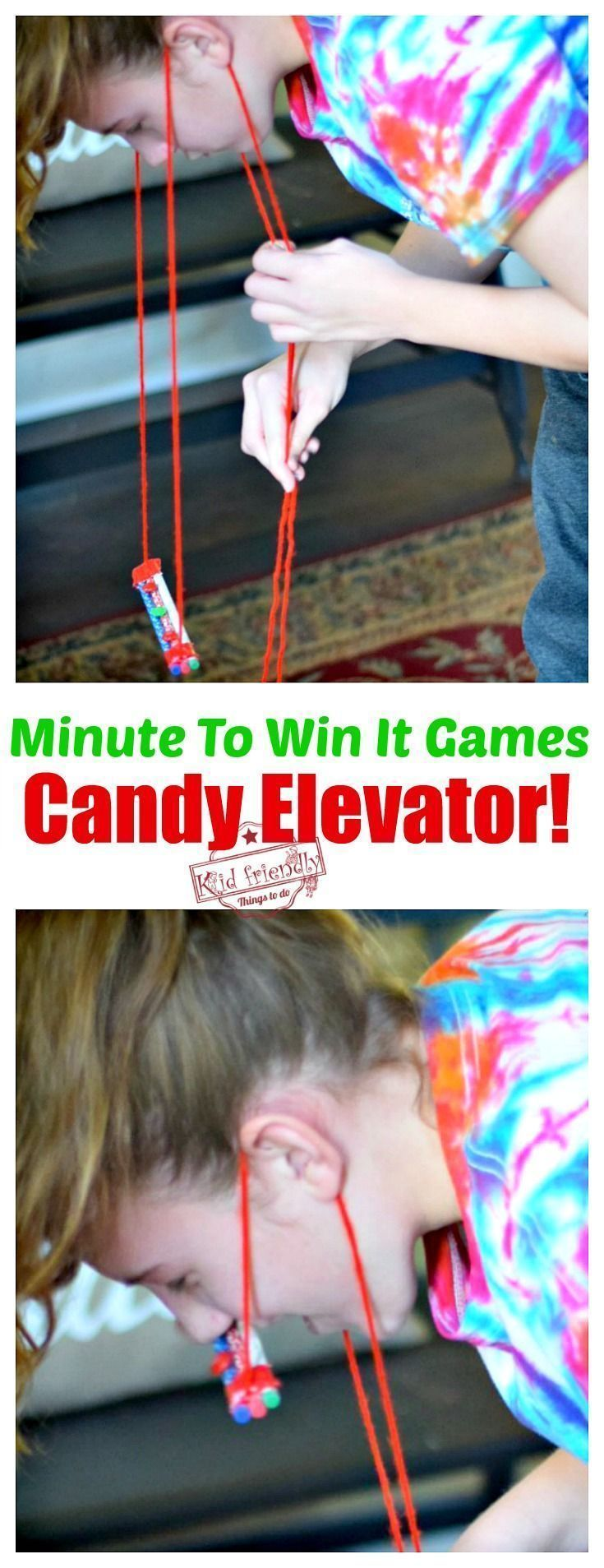 Candy Elevator Lots of fun Minute to Win It Games to