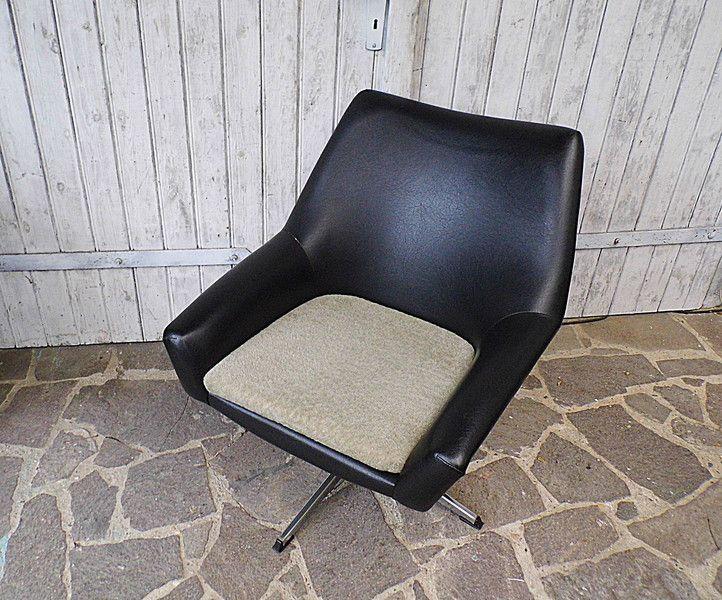 Vintage Sessel - Sessel - Cocktailsessel - Drehsessel 70er Jahre - ein Designerstück von Gerne_wieder bei DaWanda