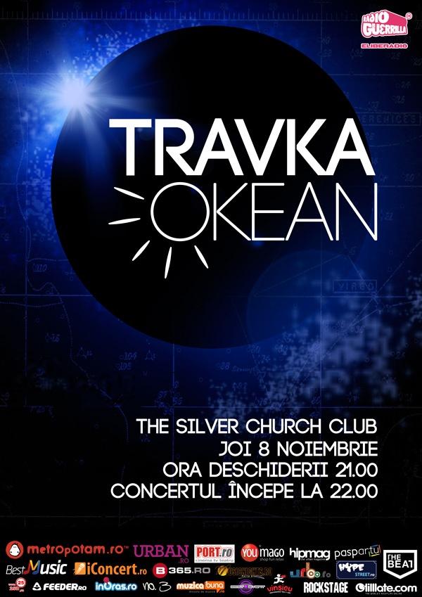 """8 noiembrie 2012. Lansarea albumului """"Okean"""", o lansare inedită, din prieten în prieten. Numai un singur exemplar al albumului îşi va lua zborul către oameni în timpul concertului de la The Silver Church Club."""
