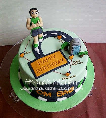 Man City Shirt Birthday Cake