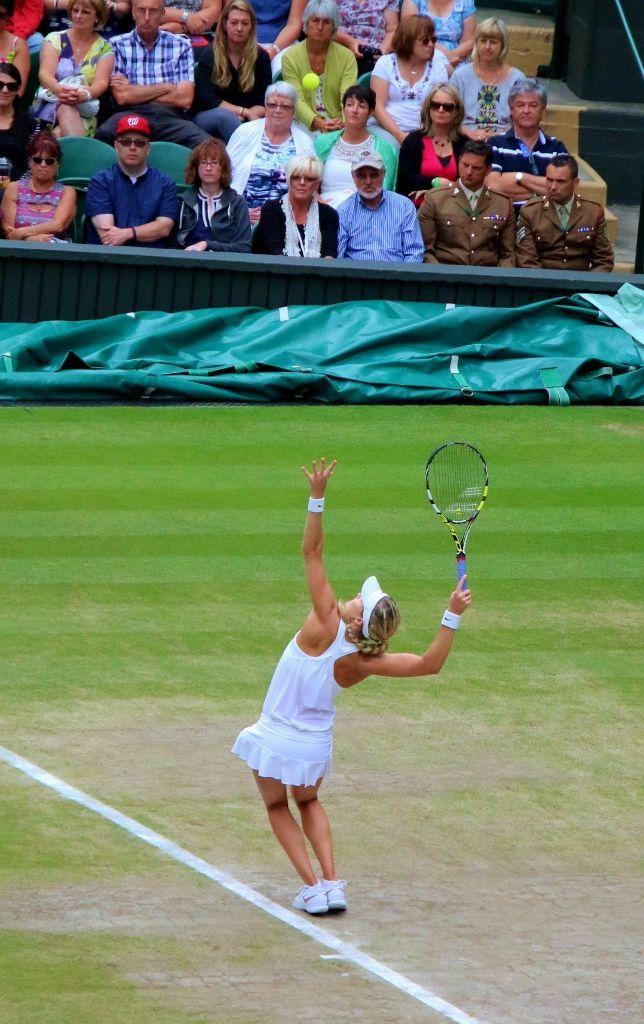 Wimbledon Centre Court, Bouchard