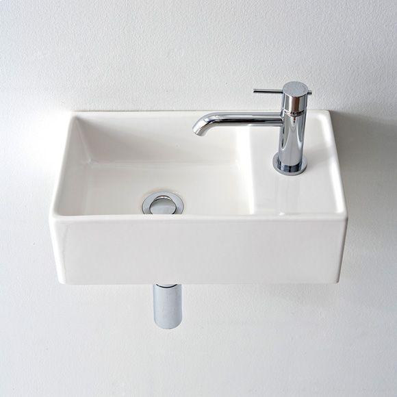 Scarabeo Teorema R-41x23 countertop washbasin W: 41 D: 23 cm