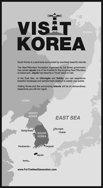 .Visit Korea. (I vote return to LIVE! C.)