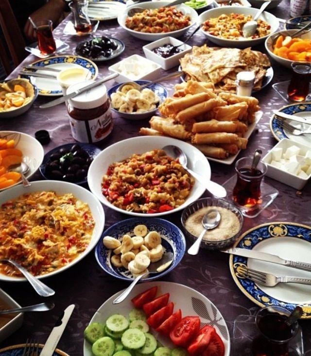 Turkish Breakfast!! Turks Do It Better!!