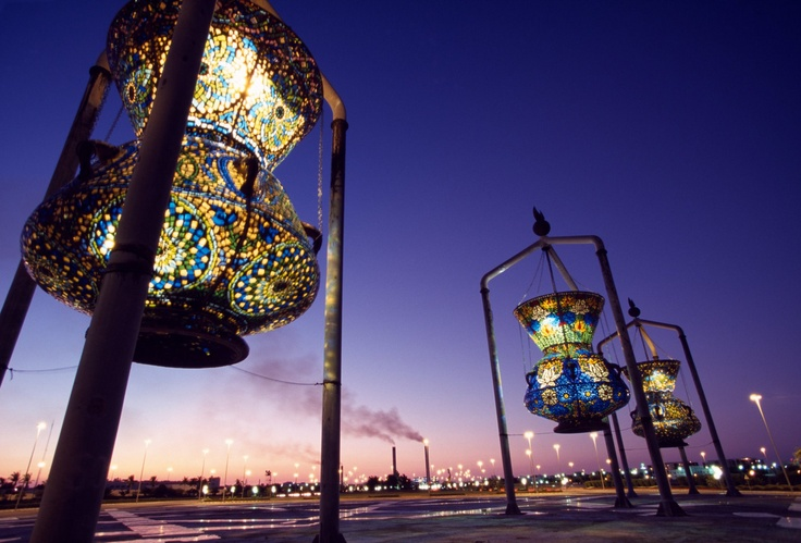 Lantern Sculpture - Jeddah, Saudi Arabia