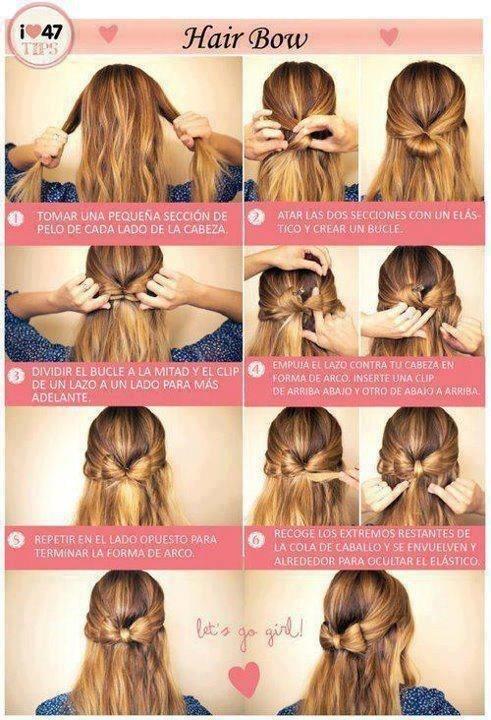 tutorial peinado moo