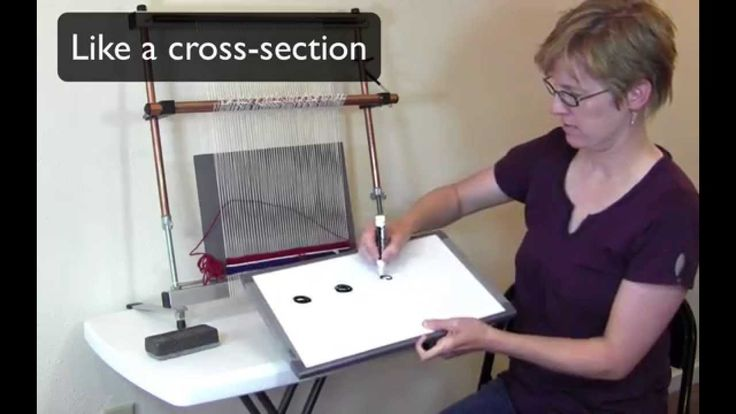 How to make bubbles in tapestry weaving