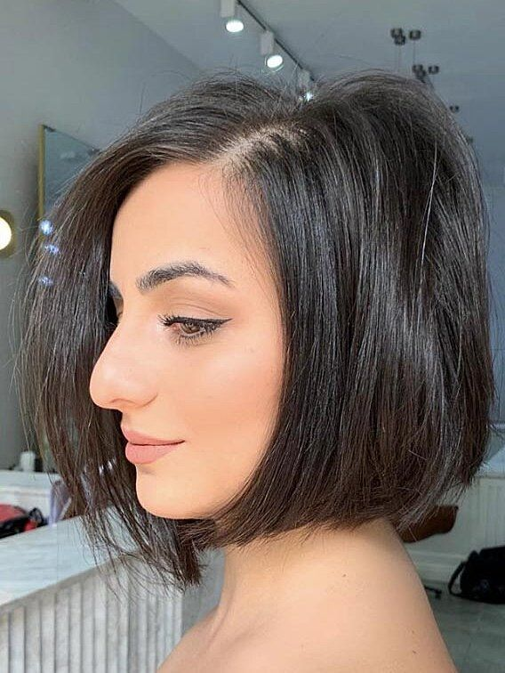The Best Short Brown Hairstyles To Try In 2021 Short Thick Wavy Hair Short Bob Hairstyles Hair Styles