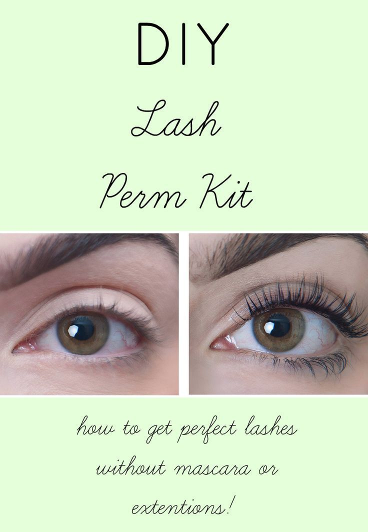 diy lash lift/ lash perm is the easiest way to get perfect lashes that last!