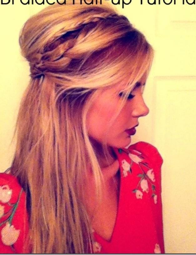 Bridesmaid hair for Sarah's wedding