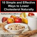 simple and effective ways to reduce cholesterol naturally