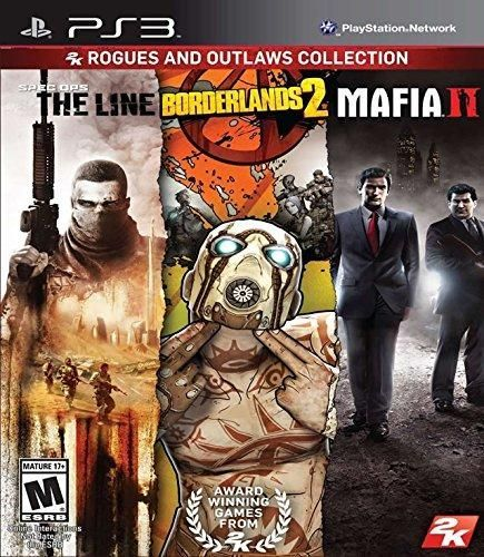 Rogues and Outlaws Collection: Spec Ops The Line, Borderlands 2, Mafia 2 #TheMafia