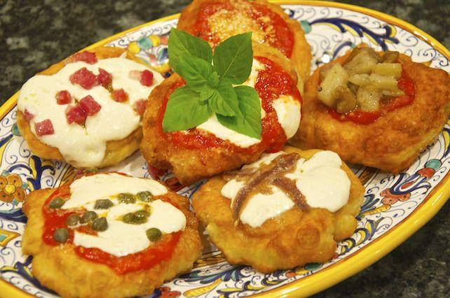 Pizzette fritte - La ricetta di Buonissimo