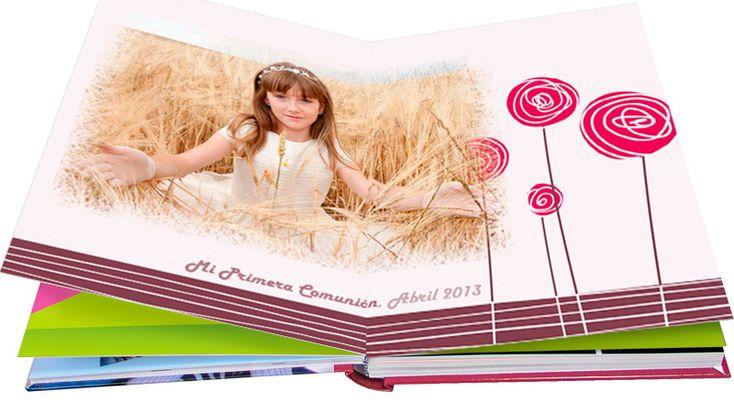 fondos para álbumes de comunión hofmann | Álbum de comunión ...