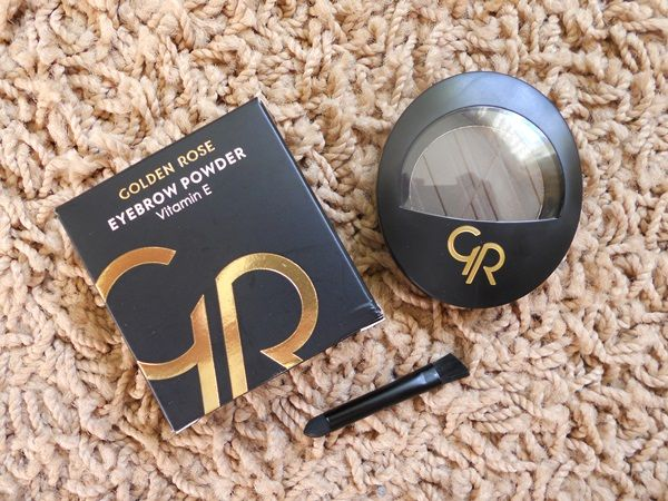 Puder do brwi EYEBROW POWDER Golden Rose