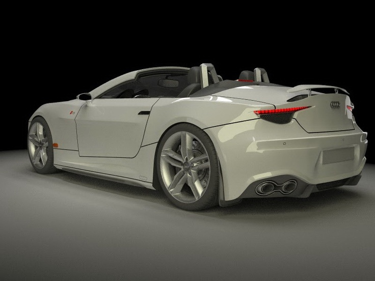 Audi RS Roadster Design Study for a…Manlier Looking TT