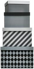 Pattern storage boxes by BoConcept
