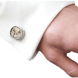 Tijdloze manchetknopen uurwerk