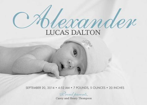 25 best BABY Birth Announcements images – Classic Baby Announcements