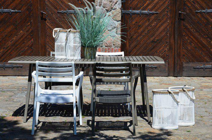 Stół ogrodowy drewniany KAREN   http://domotto.redcart.pl/p/31/3989/stol-karen-200x90x78-w-kolorze-szarym-stoly-drewniane-meble-do-ogrodu.html