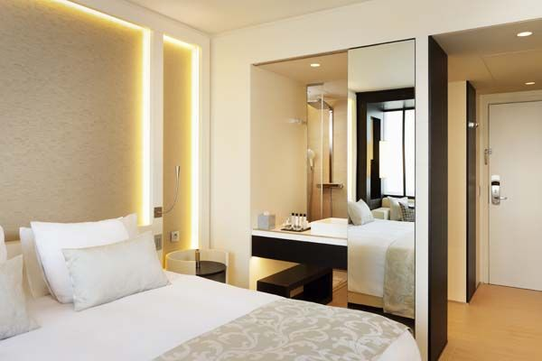 Superior Room with open bathroom