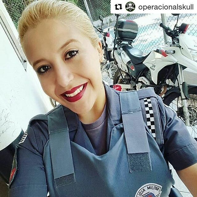 WEBSTA @ naiara_tadioto - #Repost @operacionalskull with @repostapp・・・SD MARTINA - Polícia Militar de São Paulo 👮👉@cavallimartina•🔰Juntos somos mais fortes ! 🔰#operacional #operacionalskull #skull #caveira #top #bomdia #boatarde #boanoite #policia #policiamilitar #facanacaveira #pm #bombeiro #skull #pmesp policiafederal #policiacivil #segue #falowme #mike #stives #war / Mulher de farda 👮😍 (13/12/2016)