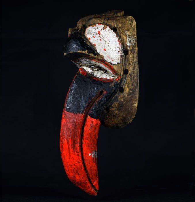 Catawiki online auction house: Nyau Bird Mask - CHEWA - Katete District - Zambia