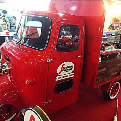 Segafredo Coffee Truck