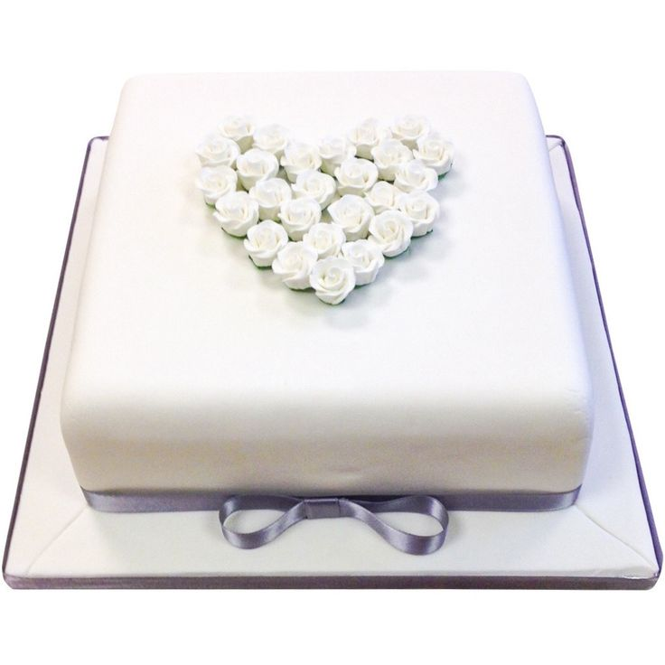 This simple and elegant anniversary cake would be a great addition at any anniversary party.  It would also makes a lovely engagement cake, and the colours can all be changed to represent the appropriate anniversary, be it gold for a golden wedding or silver for a silver wedding!  Choose from vanilla, chocolate or red velvet sponge as well as our fun extras!