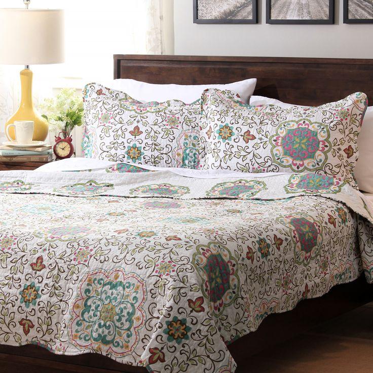 Slumber Shop Candella 3 piece Reversible Quilt Set. 45 best Quilts images on Pinterest