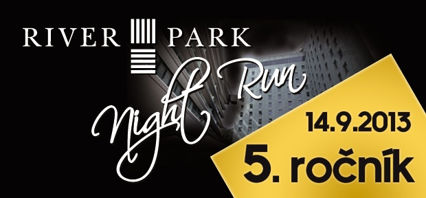 9km night run in Bratislava