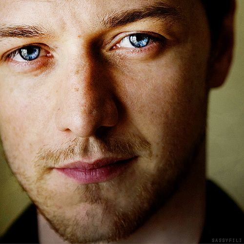 Lost in the eyes of James McAvoy