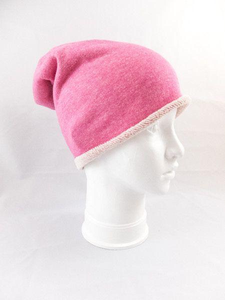 Malinowa czapka  - jousi_look - Czapki