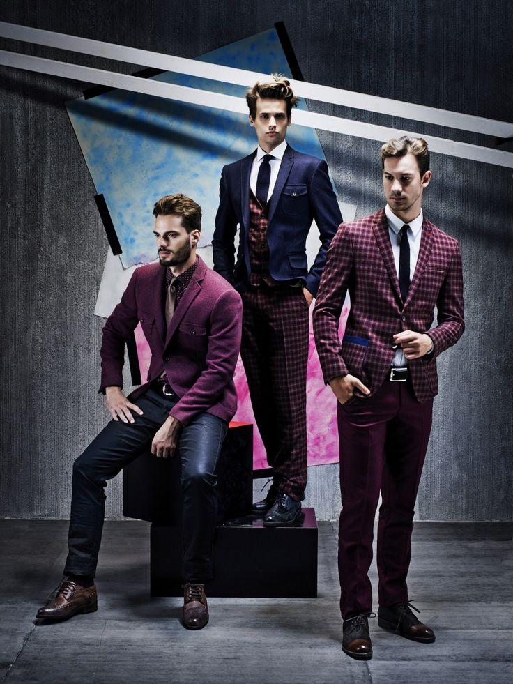 """""""Elegance Bordeaux"""" from TOSS 2014 Autumn / Winter Collection"""