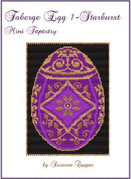 Faberge Egg 1 Starburst Mini Tapestry by Suzanne Cooper