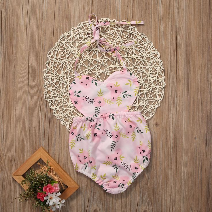 Newborn Baby Girls Clothing Bodysuit Infant Toddler Girl Jumpsuit Sunsuit backless Kids Girl Outfit Playsuit Clothes