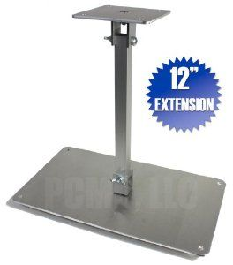 """PCMD All-Metal Projector Ceiling Mount with 12"""" Extension for Epson EB-1410Wi by PCMD, LLC.. $78.95. Projector ceiling mounts from PCMD, LLC. offers the consumer a quality ceiling mount at closeout prices. This projector ceiling mount can be rotated 360°, and pitched and rolled in any direction. The mounting plate is CNC machined for precise fitment and made from 6061-T6 aircraft grade aluminum. Unlike universal ceiling mounts, our projector ceiling mounts ar..."""
