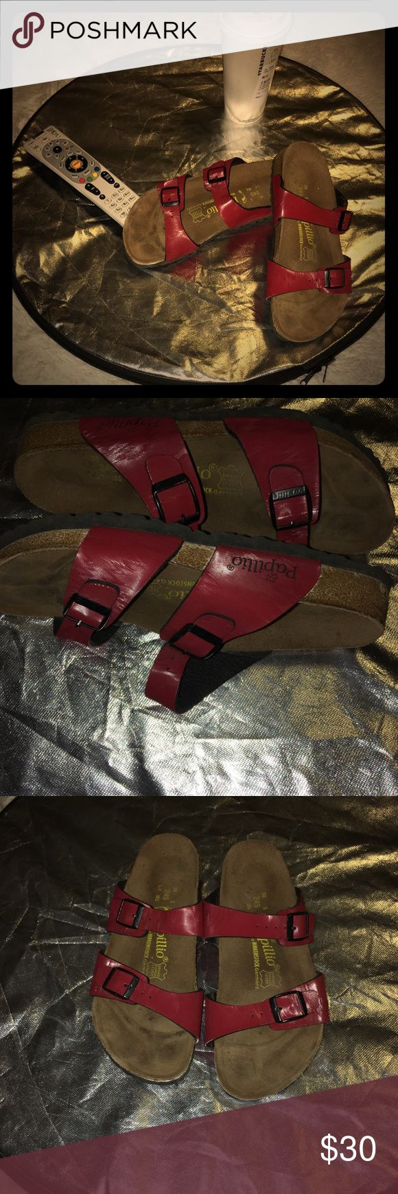 Papillio By Birkenstock Germany sandals Papillio By Birkenstock Germany  leather sole sandals so comfortable and cute. papiillio By Birkenstock Germany Shoes Sandals