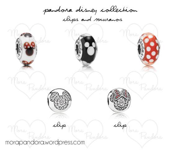Pandora Disney Collection - clips and muranos! <3
