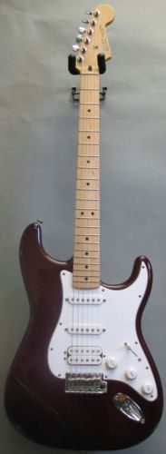 You know you want it!!    The Standard Stratocaster® HSS offers the usual Fender tone with a humbucker to fatten up the bridge position.     Includes synchronized tremolo with high-mass bridge block, shielded body cavities, medium jumbo frets and gig bag