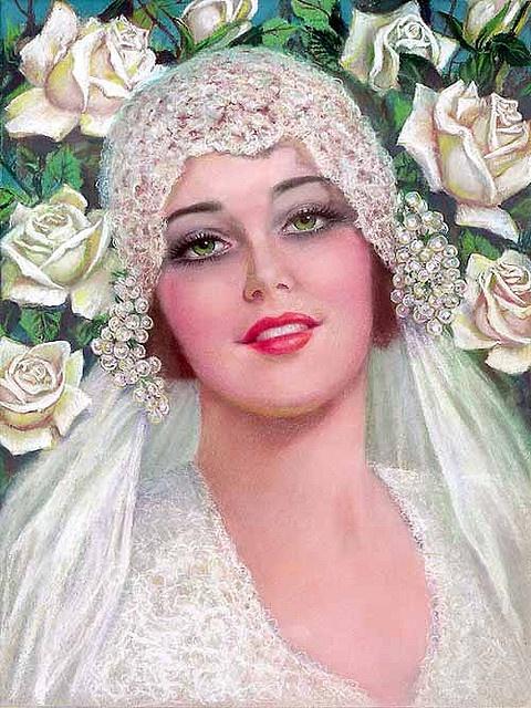 Vintage bride COVER 1920