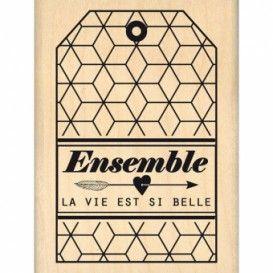 Tampon Florilèges -ENSEMBLE FLECHE - FE214074